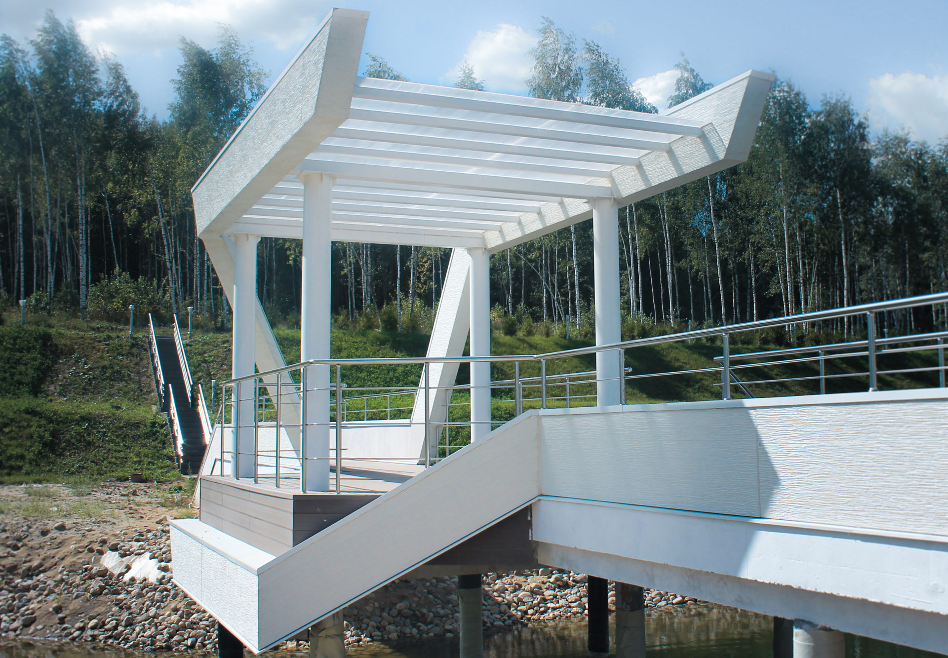 Архитектурный проект моста пос.Горки 1