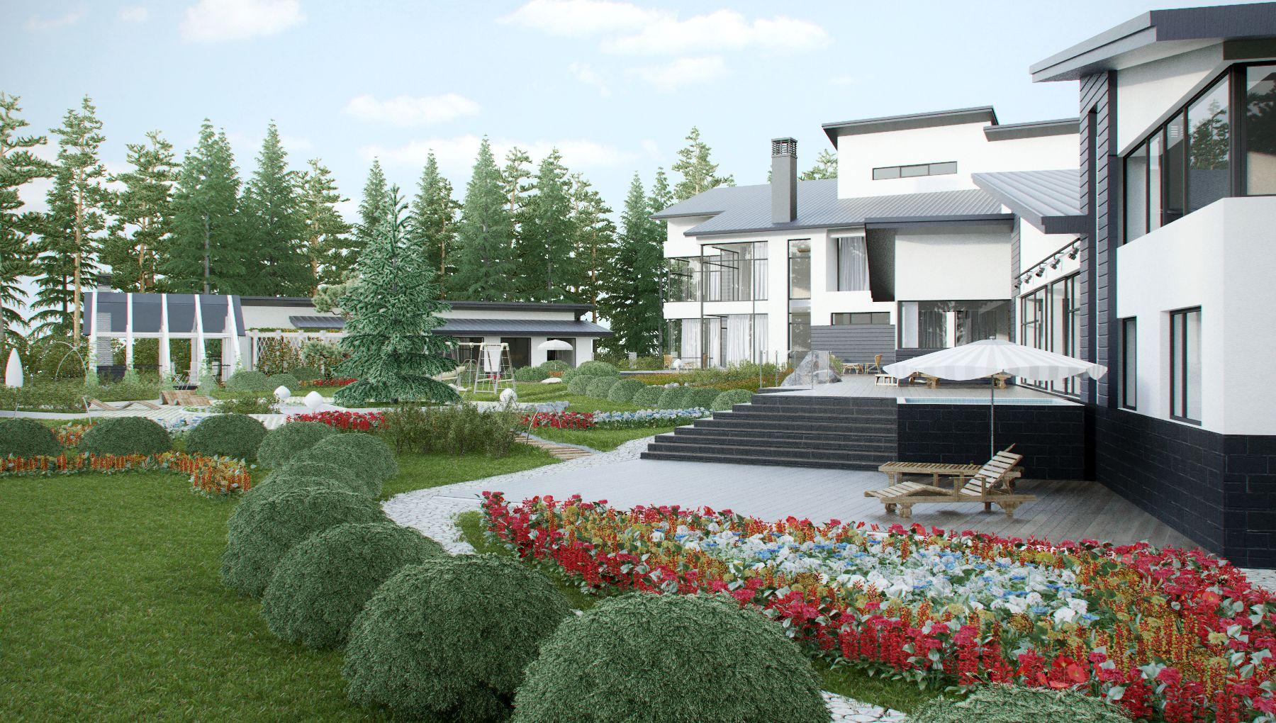 Архитектурный проект бассейна