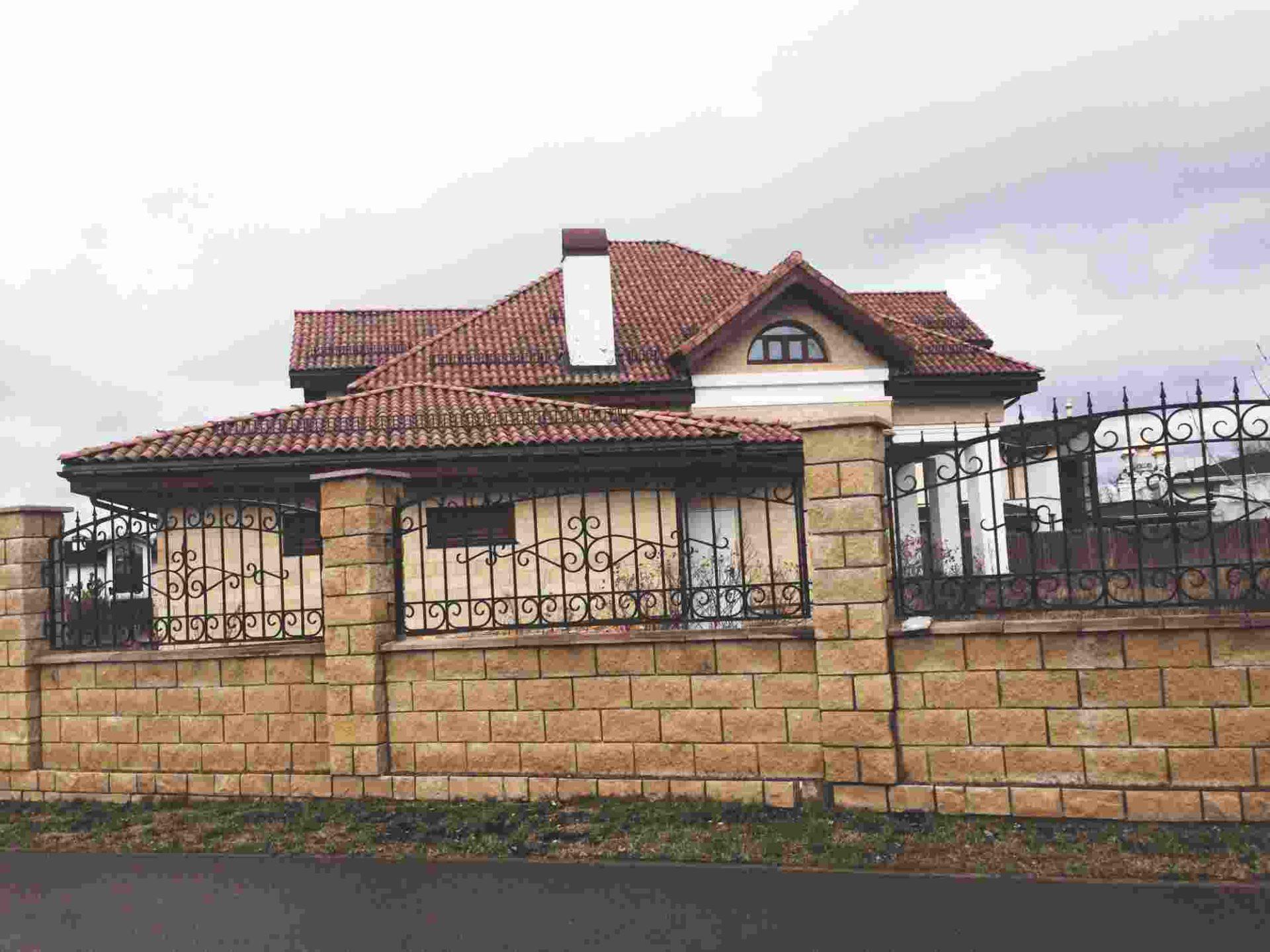 "Дизайн фасада частного дома-""Довиль"""