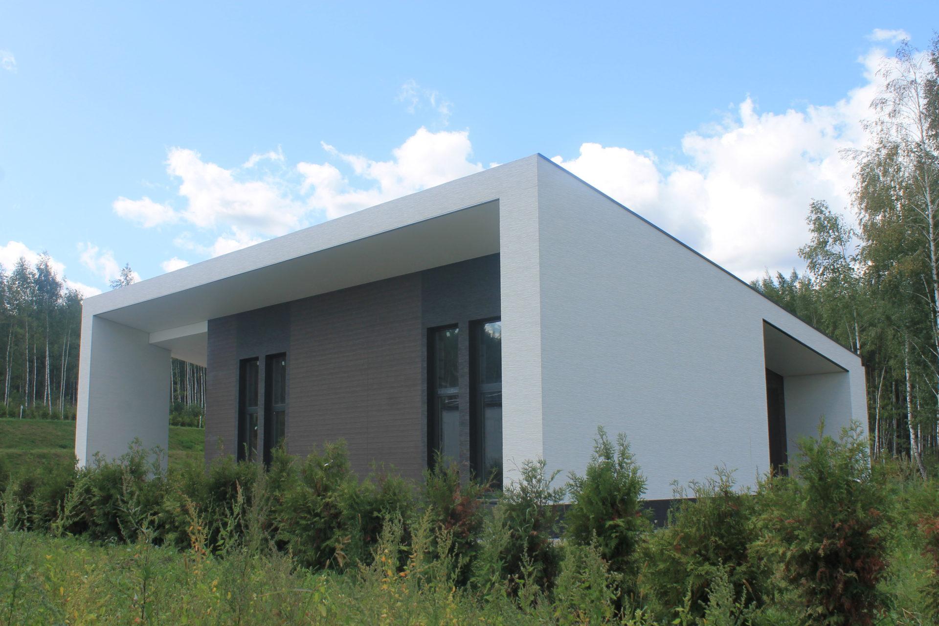 Архитектурный проект дома 120 м2